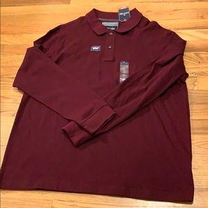 St. johns bay extra large men's shirt maroon